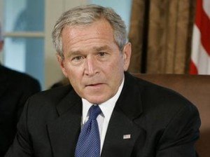 George Bush Accidentally Voted For Obama