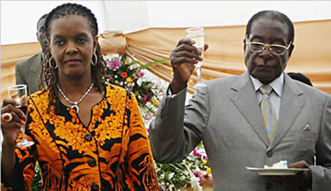 Grace Mugabe Sues Trader Over $1.3m Diamond Ring