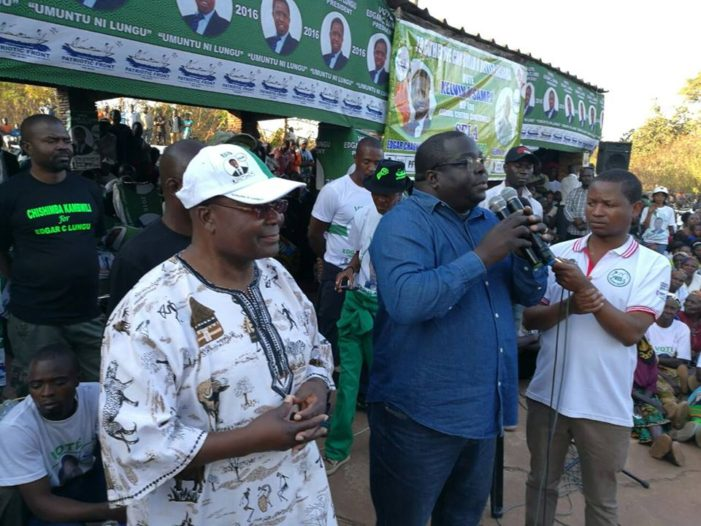 We Shall Stand With  Kambwili-Luanshya Marketeers
