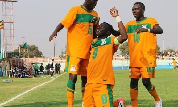 Zambia U20 Players On Fire