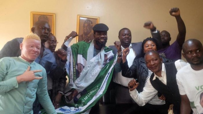 Pilato Says Sorry To President Lungu, Ditches UPND