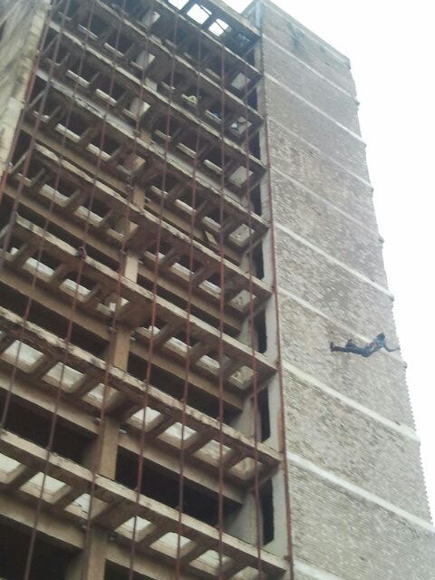 Meanwhile Lusaka Husband Throws Himself Off The Building (At Stanely Bus Station)