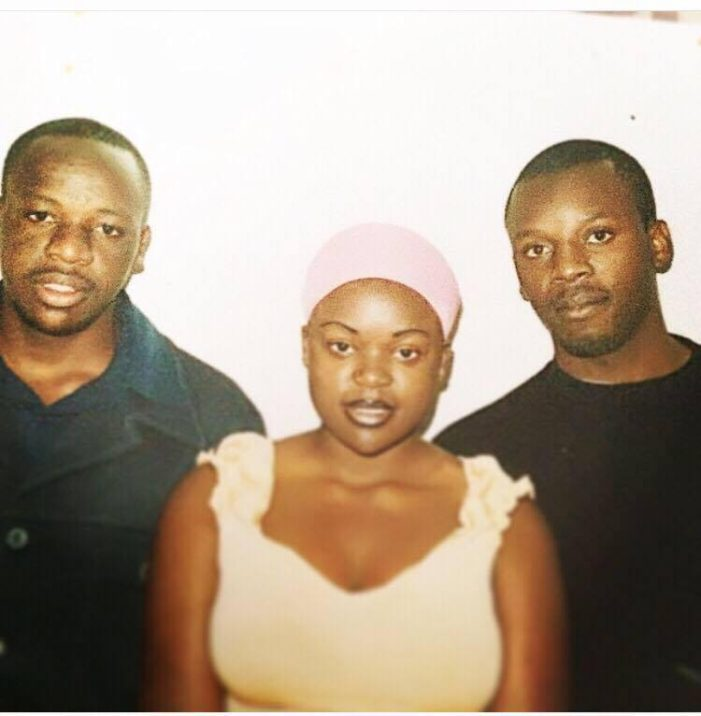 Throw Back Photo Of Mampi And Her Brothers
