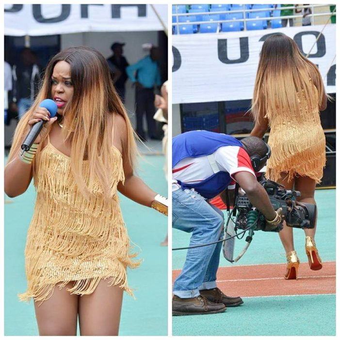 Question: What Does This Cameraman Want To See in Mampi's Legs?