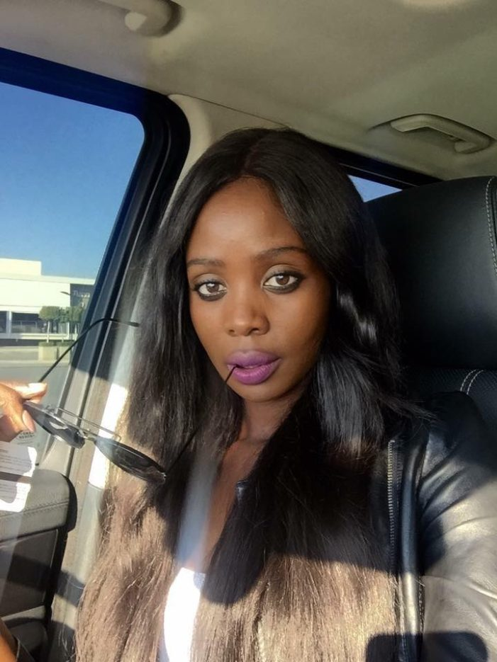 Zambian Model Alice Musukwa Comes For Miss Zambia (Screengrabs Included)