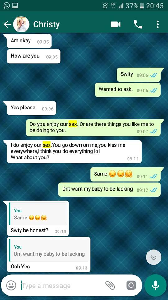 See The Trending Conversation Between A Married Man And A Female UNZA Student